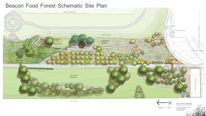 Full seven acre proposal to be built over the next few years.